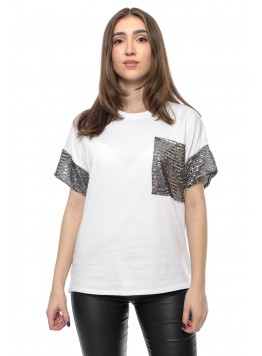 Tricou Shine White