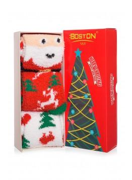 Set 3 sosete cocolino Christhmas, Santa