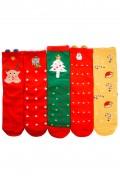 Set 5 sosete Christmas, Tree